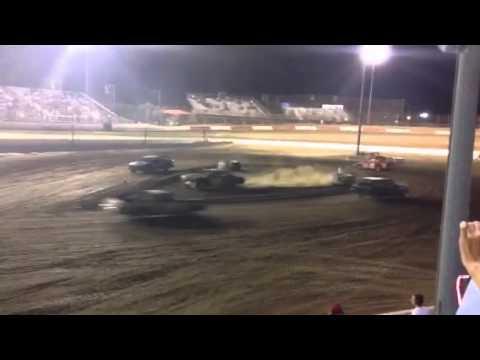 Perris auto speedway figure 8 race