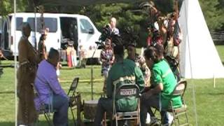 Grand Entry - Friday - Bergen Community College - Spirit of the Mountain Tribe Singers