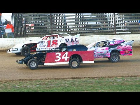 RUSH Pro Mod Heat Two at Stateline Speedway (Busti, NY) on Saturday, August 31st, 2019! Stateline Speedway: http://newstatelinespeedway.com. - dirt track racing video image