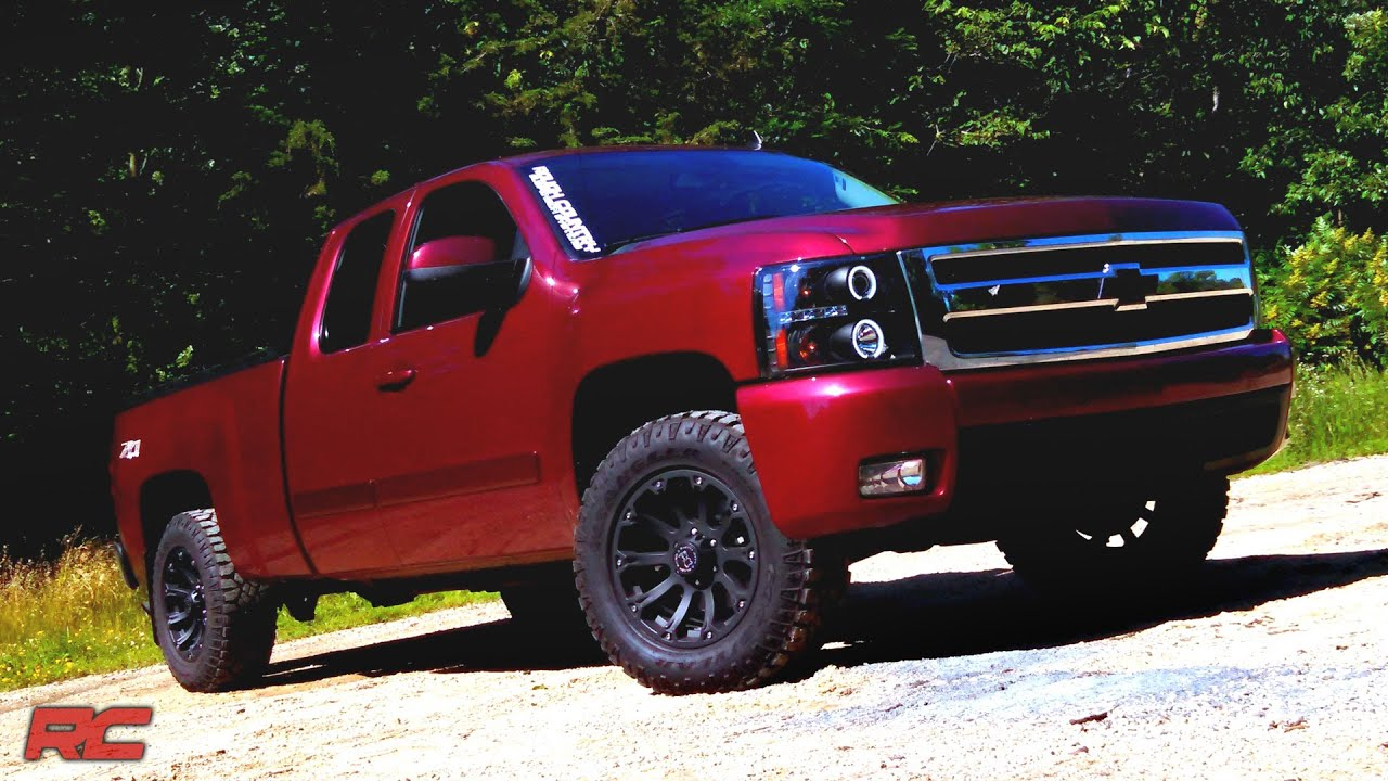 leveling kit inch 1500 rough country 2007 gm