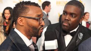 Inner City Gospel Talk with William Mc Dowell on the red carpet 2015 Dove Awards