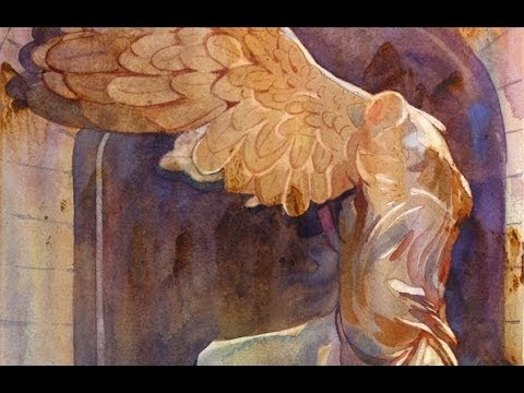 Watercolor Class with Susan Avis Murphy, AWS: Painting The Winged Victory with the Rivulet Technique
