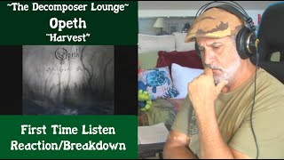 """Old Composer REACTS to Opeth """"Harvest""""   The Decomposer Lounge   Reaction and Breakdown"""