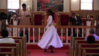 Praise Dance by Sis. Imani McNeil May 13, 2018