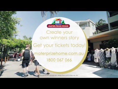 Mater Prize Home lottery No. 263 winning call
