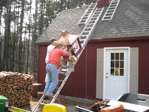 Installing a cupola youtube for How to build cupola