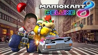 MARIO KART 8 DELUXE!!! Evan vs. Daddy Bowser! Grand Prix Nintendo Switch