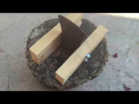 Kindling splitter made from an old axe head (no welding)