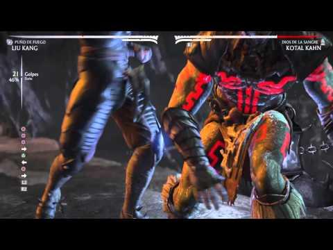 Mortal Kombat x comobo xray