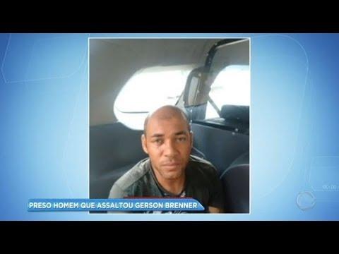 Homem que assaltou Gerson Brenner é preso na Zona Leste