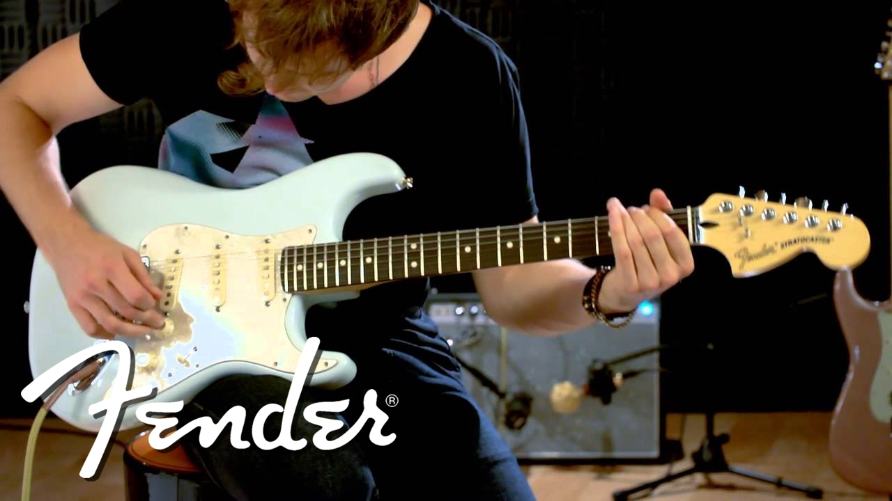 Fender Deluxe Roadhouse Stratocaster Demo Youtube Highway 1 Wiring Diagram