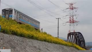 [ラストラン]キハ31形 普通 原田行き 宝満川橋梁付近通過