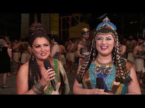 Anna Netrebko and Anita Rachvelishvili on Aida