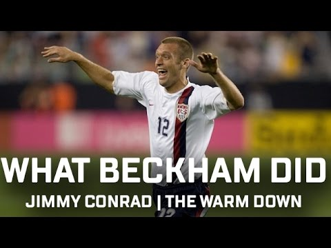 What David Beckham Did... | Jimmy Conrad | The Warm Down Podcast