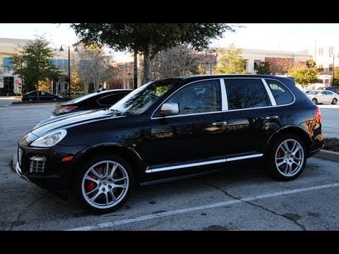 Porsche Cayenne Turbo Acceleration Walk Around Panoramic