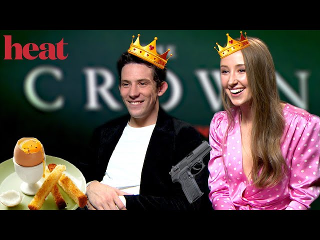 """""""There's a lot coming out in this interview!""""\: Josh O'Connor & Erin Doherty reveal all on The Crown"""