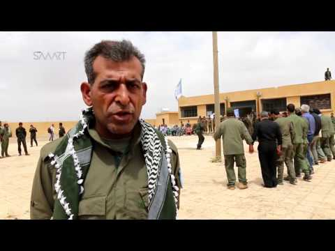 Special Internal Security Forces' first course in al-Raqqa finished