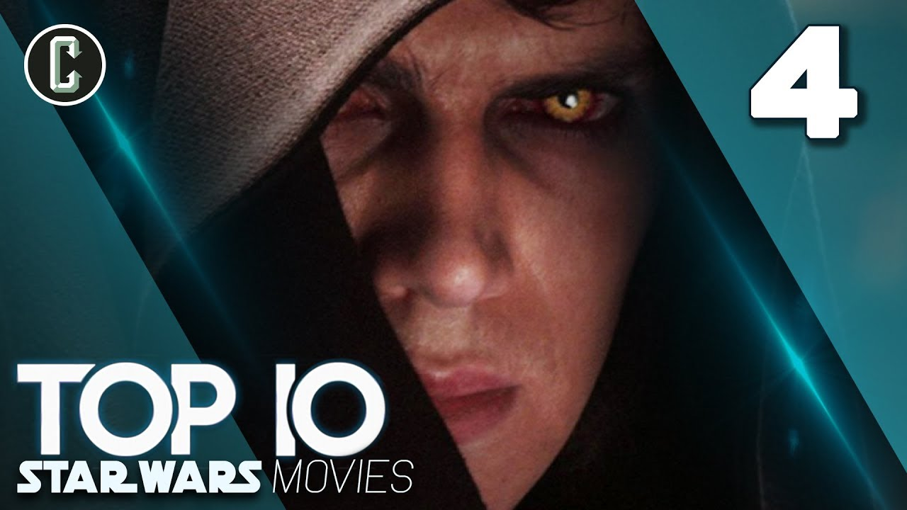 Top 10 Star Wars Movies Fan Rankings 4 Revenge Of The Sith Youtube