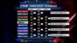 NBA 2K League Season 3 Week 11   Day 1