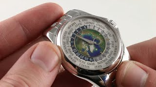Patek Philippe Complications World Time 5131/1P-001 Luxury Watch Review