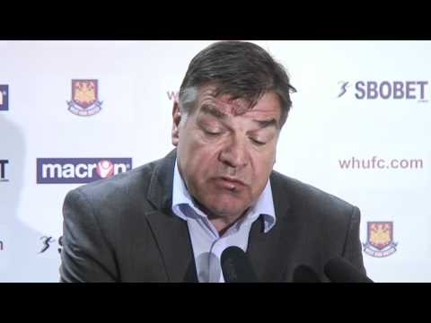 Sam Allardyce's first press conference as new West Ham boss