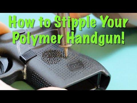 Stippling Handgun Grips - Glock G43