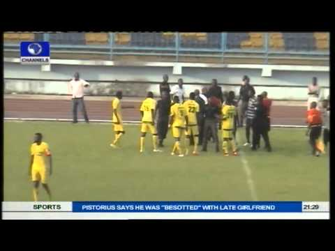 Highlights Of Match Day Violence In The Glo Premier League