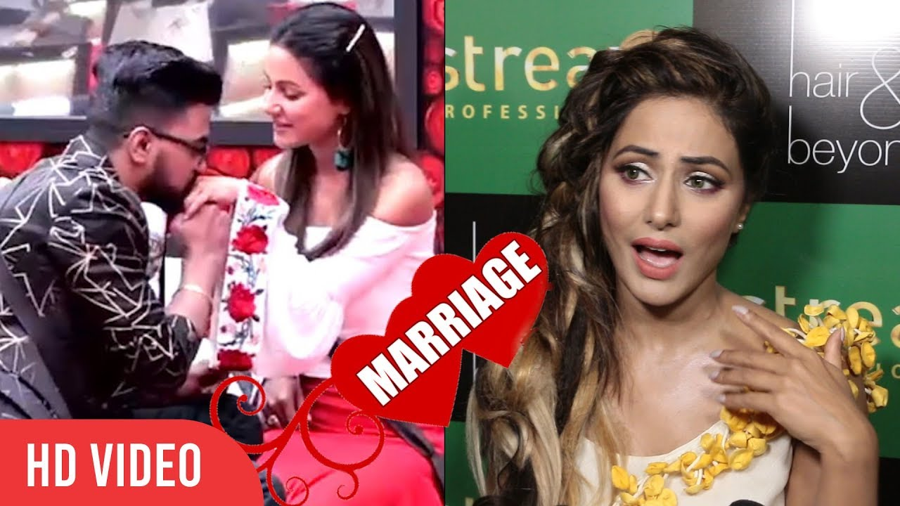 Hina Khan Reaction On Her Marriage With Boyfriend Rocky Jaiswal