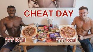 CHEAT DAY KALORIEN CHALLENGE | Wer kann mehr essen?