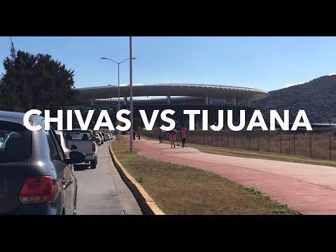 CHIVAS VS TIJUANA  - ESTADIO OMNILIFE - JORNADA 8 LIGA MX