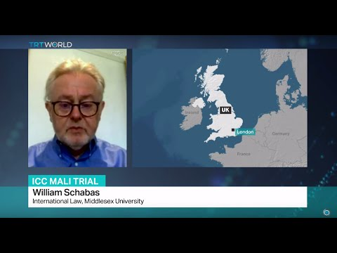 ICC Mali Trial: Interview with William Schabas, International Law, Middlesex University
