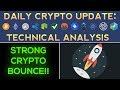 Cryptos See Strong Bounce, Big Move Higher Soon? (1/27/18) Daily Update + Technical Analysis