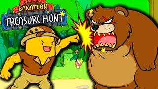 Приключения ВЕСЕЛОГО БАНАНА в ОПАСНОМ ЛЕСУ! Смешная андроид Игра BANATOON: Treasure hunt