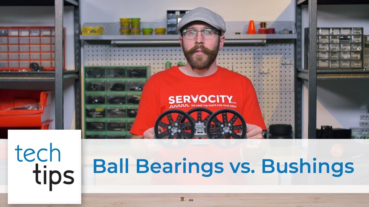 Ball Bearings vs Bushings