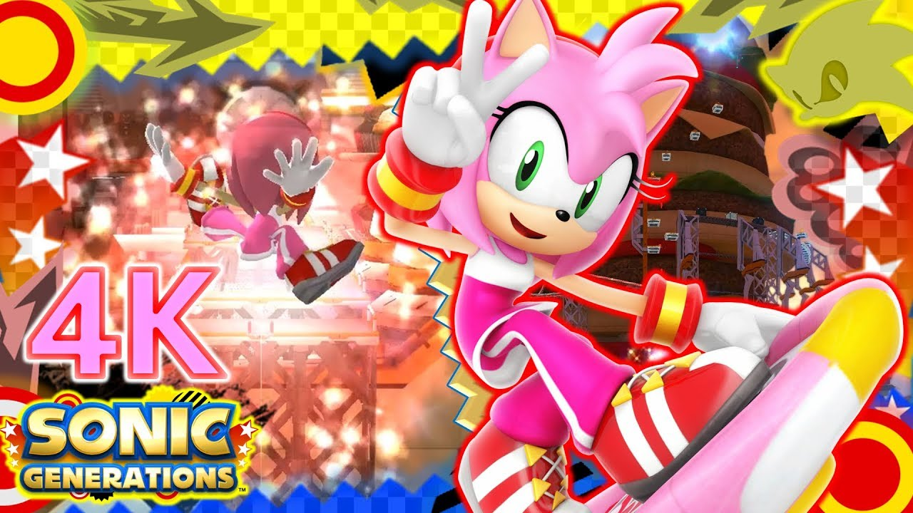 Sonic Generations // Riders Amy in Sweet Mountain Mod Showcase