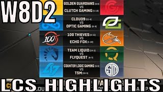 LCS Highlights ALL GAMES Week 8 Day 2 Spring 2019 League of Legends NALCS