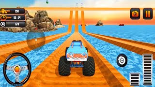 Water Car Racing - Monster Truck Water Surfing 2 - Suda Araba Yarışı Oyunları - Gameplay FHD