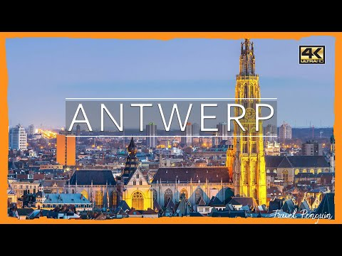 ANTWERP ● Belgium 2018 |👉CINEMATIC DRONE VIDEO | 4K Ultra HD📷
