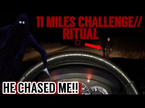 CHASED BY CULT MEMBER ON HAUNTED ROAD