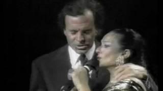 LOLA  FLORES & JULIO IGLESIAS - SOMOS DOS CAMINANTES ( MIAMI ).wmv
