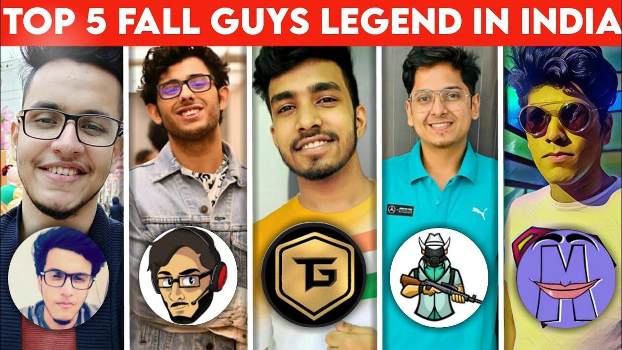 Top 5 Biggest Fall Guys Legend In India | Battlefactor