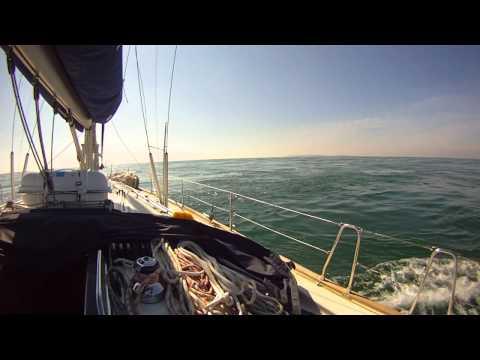 Alderney Race 7 knots but flat