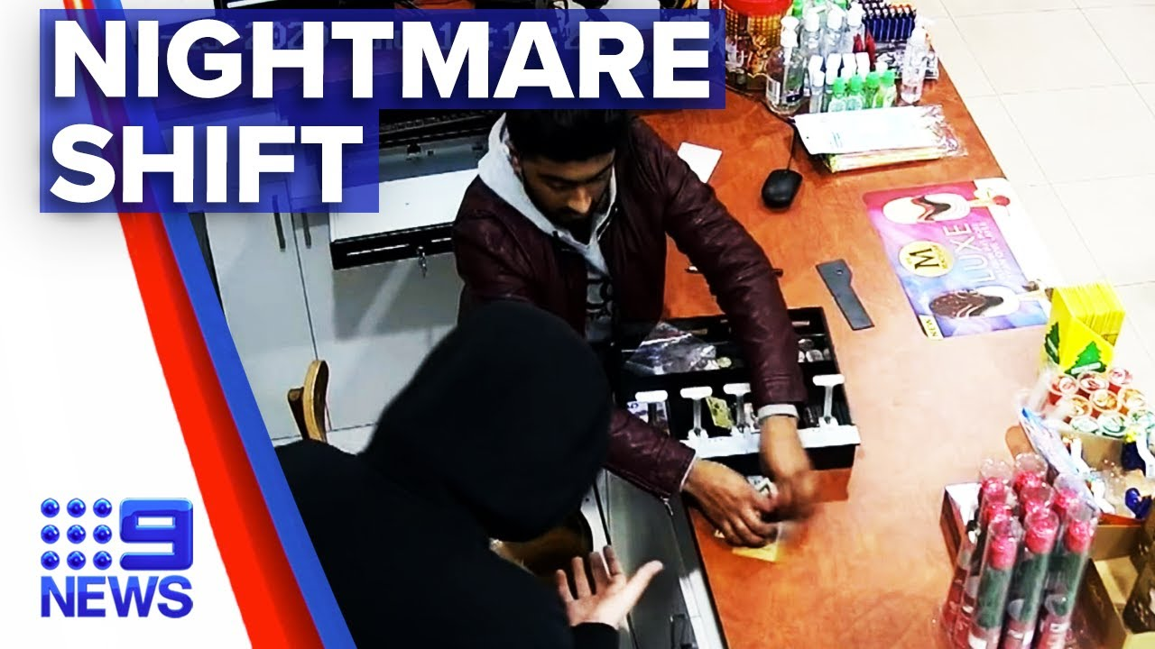 Another store hit in series of armed robberies | 9 News Australia
