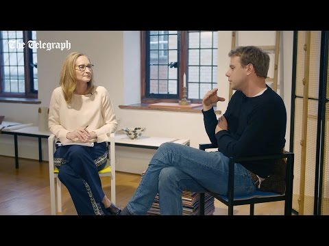Jonathan Anderson in conversation with The Telegraph
