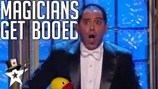 Magicians Didn't Get The Reaction They Wanted on America's Got Talent