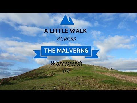♫ Malvern Hills Walk with Edward Elgar's March No. 4 | Malvern Worcestershire, England UK