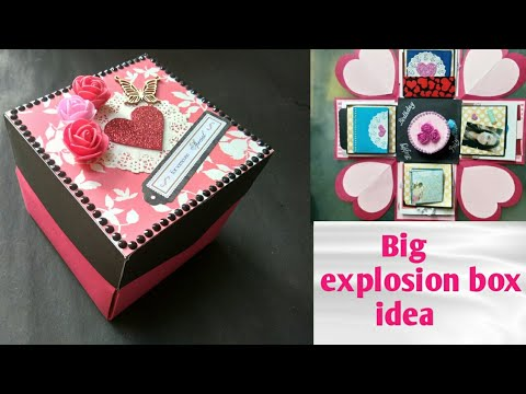 Handmade BIRTHDAY EXPLOSION BOX