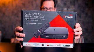 Airtel XStream Box unboxing with Airtel Xstream Fiber