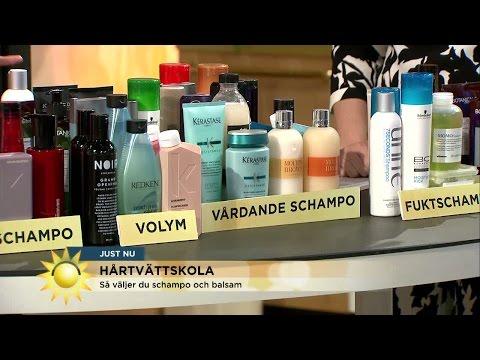 S vljer du rtt schampo - Nyhetsmorgon (TV4)
