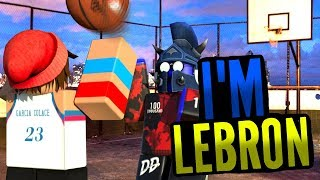 I'M LEBRON! [RB WORLD 3 BETA ROBLOX]